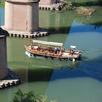 Balade sur la rivière
