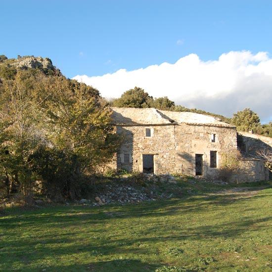 Les ruines du lieu-dit Ventajou