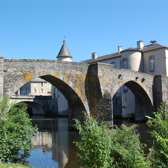 Brassac - Le pont du XII ème