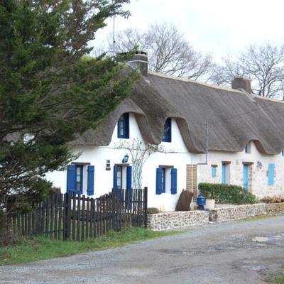 La maison dans le pays des marais
