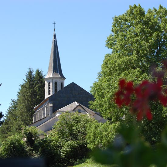 La belle église du village