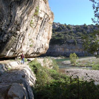 Photo de Minerve: le chemin de randonnée