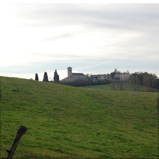 Le village de Montoulieu Saint-Bernard