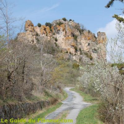 Le rocher de Caylus