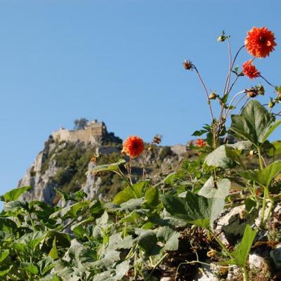 La randonnée à Roquefixade