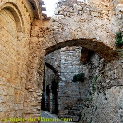 Une rue toute proche de l'abbaye