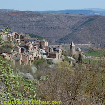 Le village de Montjaux