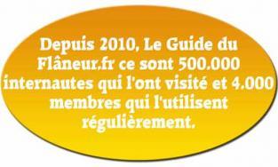 4000 membres du Guide du Flâneur