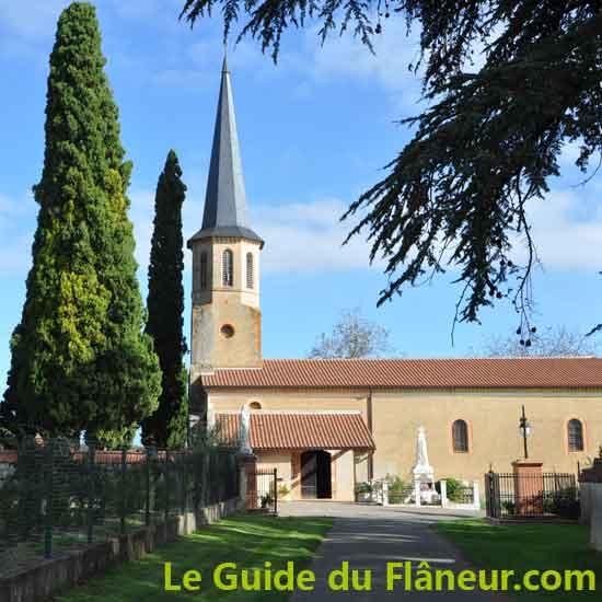 L'abbaye de Boulaur dans le Gers