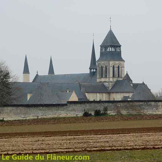 Visite de Fontevraud l'abbaye