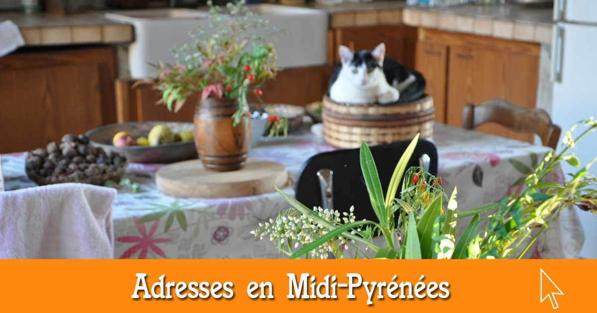 Les bonnes adresses en Midi-Pyrénées