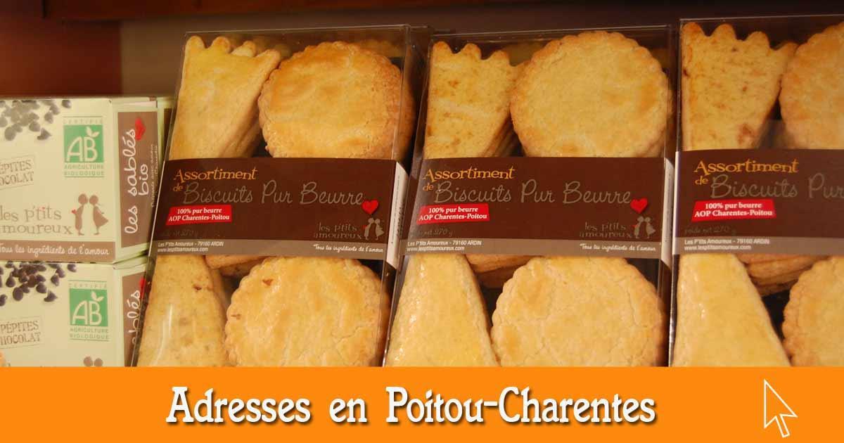 Les bonnes adresses en Poitou-Charentes