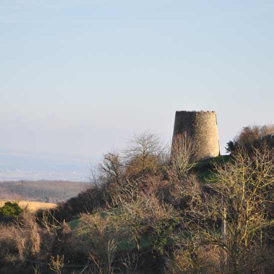 L'ancien moulin de Montferrand