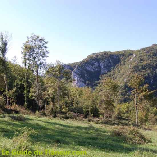 Les gorges de Péreille dans l'Ariège