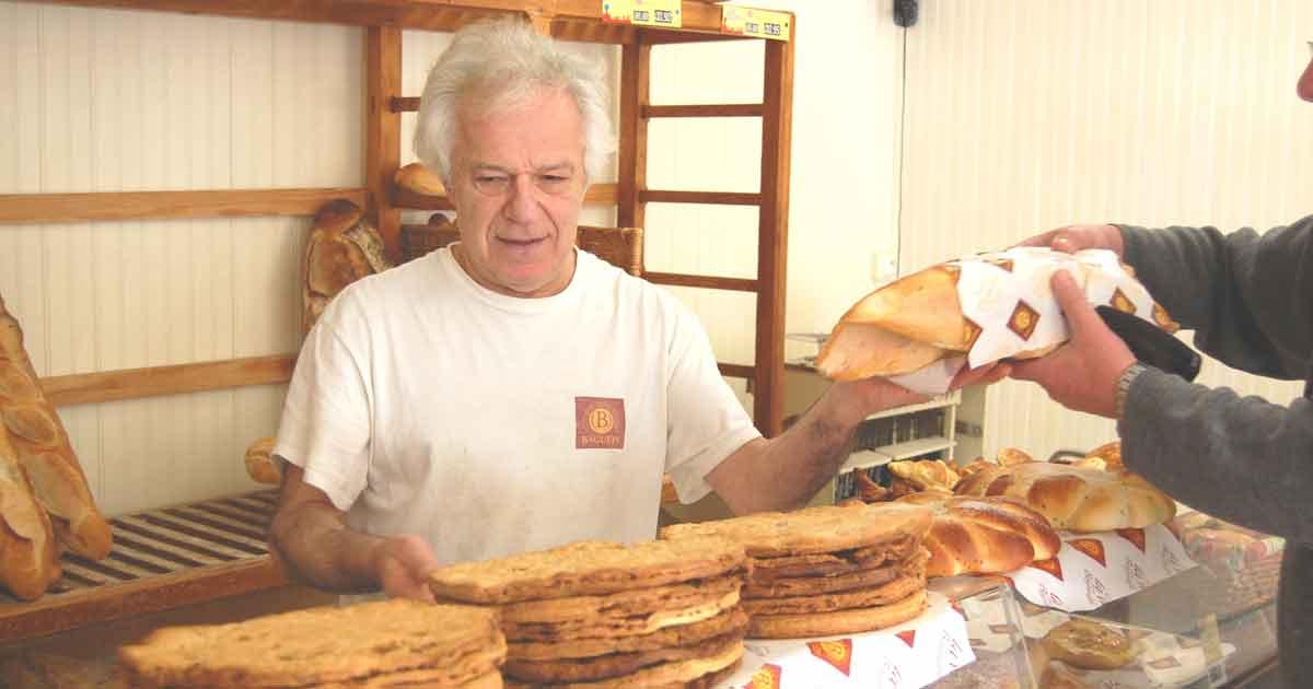 Artisan boulanger à Fanjeaux