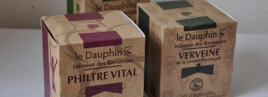 Les infusions bios Le Dauphin à Buis-les-Baronnies - Drôme