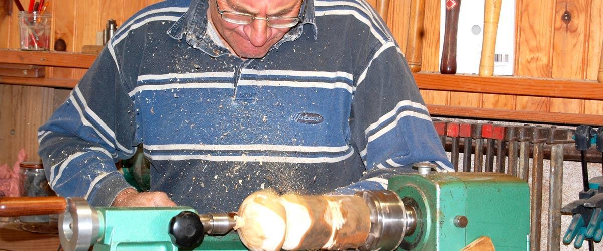 Artisan Tourneur sur bois
