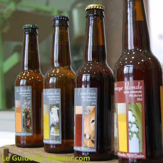 La bière de la brasserie des marais - Deux-Sèvres