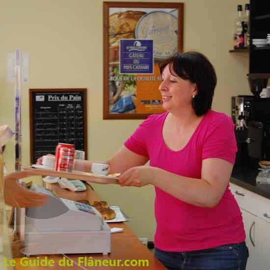 Boulangerie de Lastours dans l'Aude
