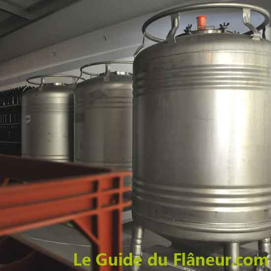 Ies cuves de brassage