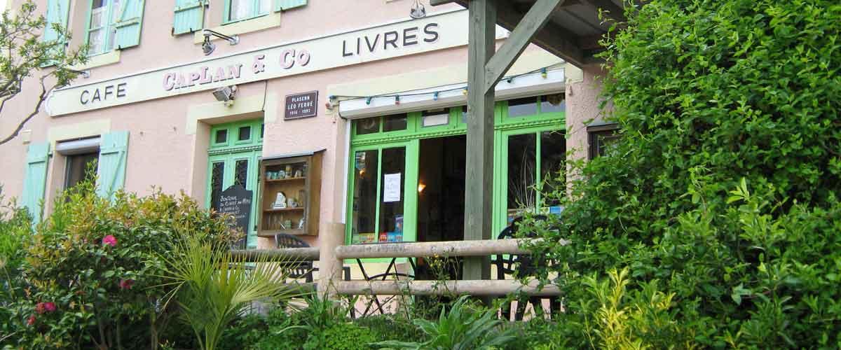 Le café-librairie de Guimaëc