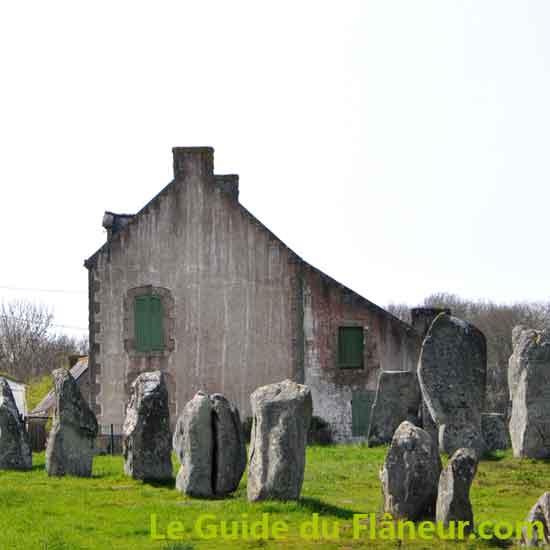 Visite de Carnac dans le Morbihan