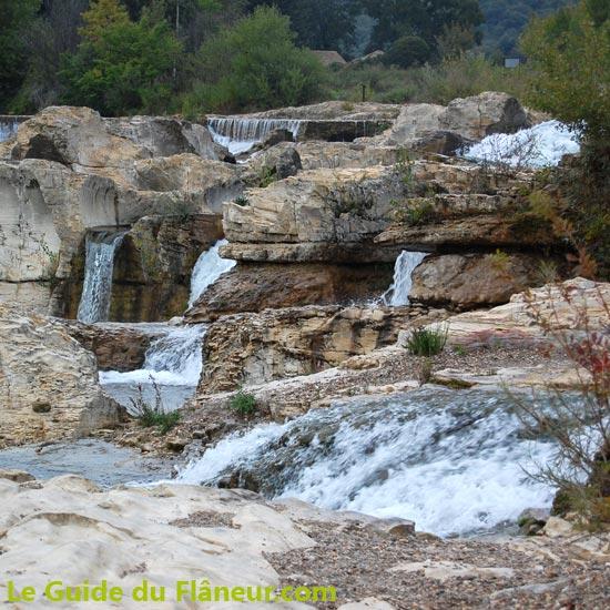 Visite de  La Roque sur Cèze