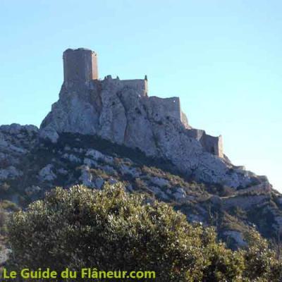 Chateau queribus 1