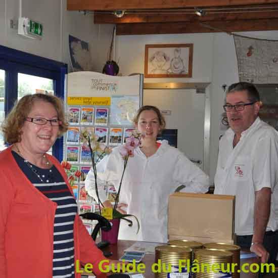 Conserverie Kerbriant à Douarnenez - Finistère