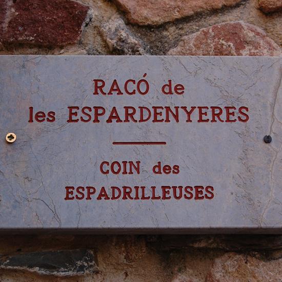Nom des rues en catalan