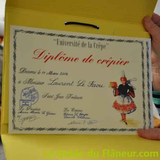 L'Universite de la crêpe à Saint-Jean-Trolimon