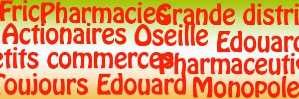 Edouard et les pharmacies