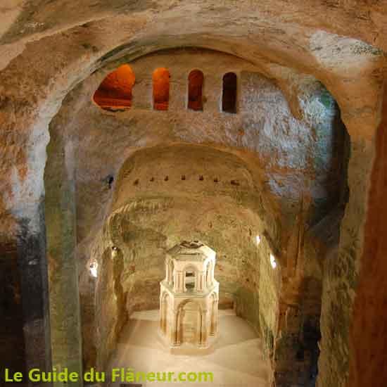 Visites et tourisme - L'église d'Aubeterre-sur-Dronne - Charente