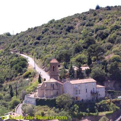 L'église de Lastours