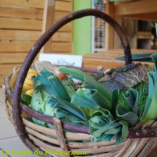 Des légumes produits localement