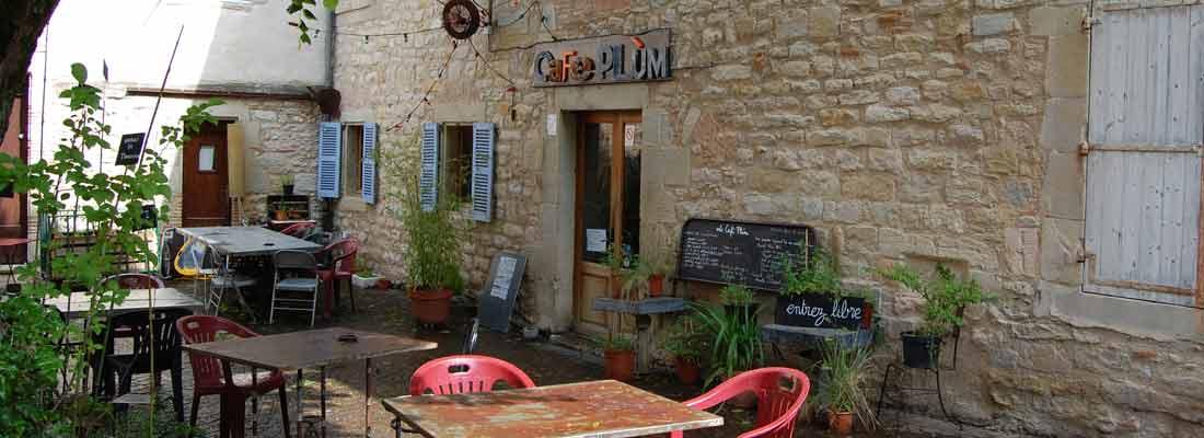 Le café Plùm à Lautrec - Tarn