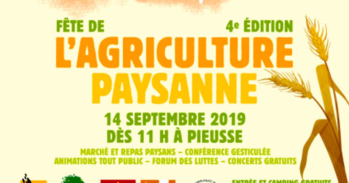 Fete agriculture paysanne