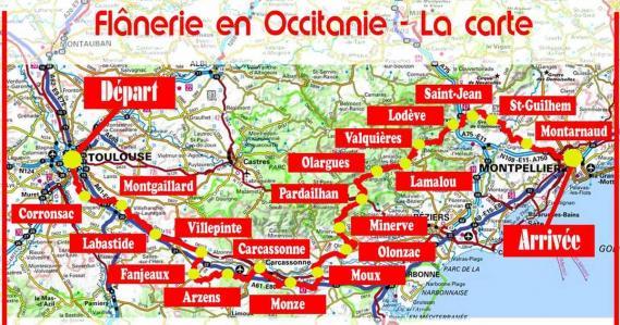 Flanerie en Occitanie