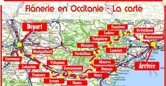 Flanerie en occitanie rs
