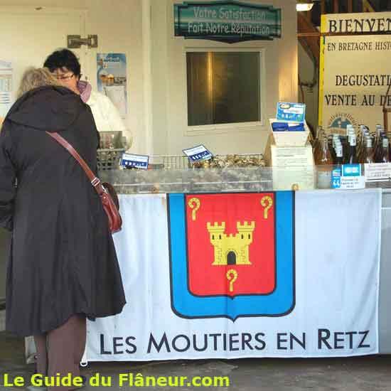 Les huitres de Moutiers-en-Retz