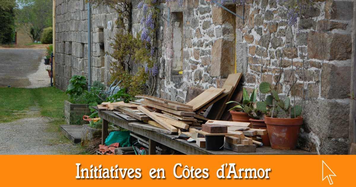 Les initiatives en Côtes d'Armor