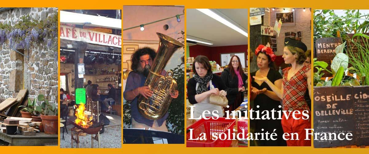 Les initiatives en France