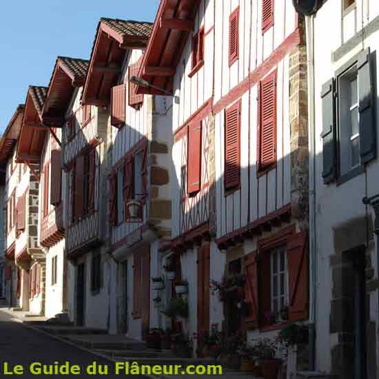 Labastide-Clairence dans les Pyrénées-Atlantiques