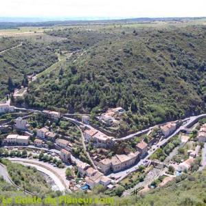 Le village de Lastours