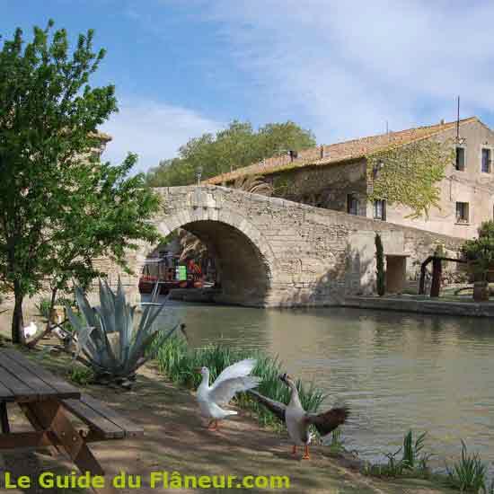Visite du Somail dans l'Aude