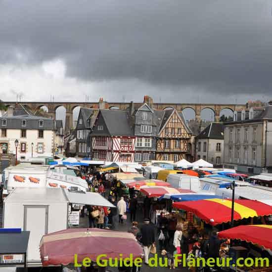 Morlaix dans le Finistère