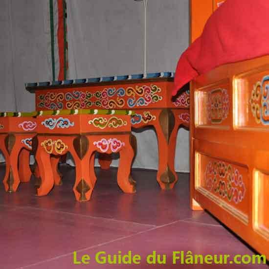 Les yourtes du bois d'Escoumos - Gensac-de-Boulogne