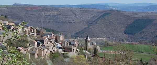 Le village de Montjaux - Aveyron
