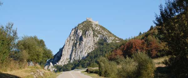 Montsegur dans l'Ariège