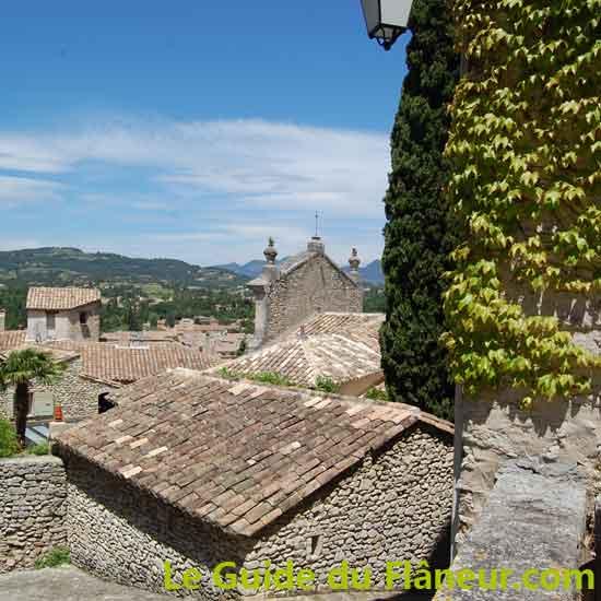 Vaison-la-Romaine - Vue sur la ville ancienne